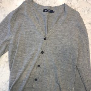J Crew long sleeve button down sweater